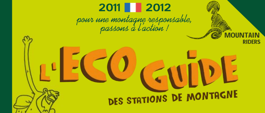 Eco guide stations montagne Mountain Riders