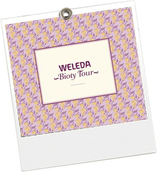Weleda Bioty Tour - JulieFromParis